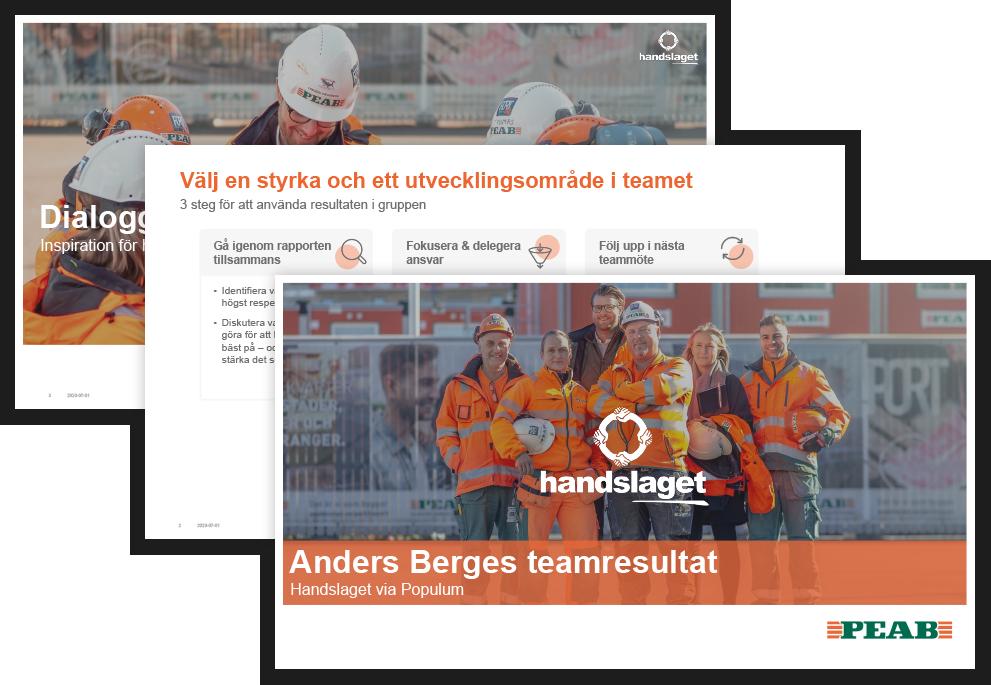 Anders Bergs team result